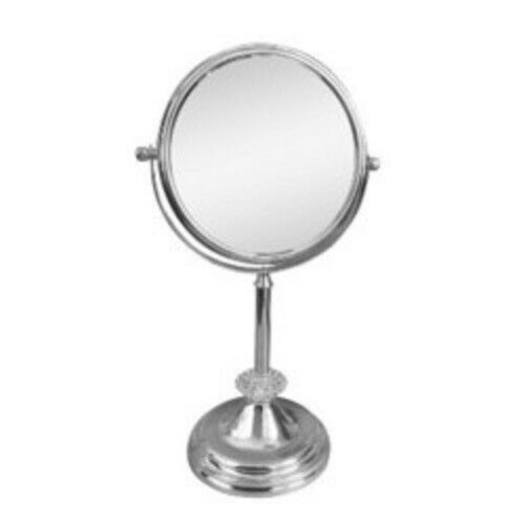 Other - Freestanding Bath Magnifying Makeup Mirror Jeweled